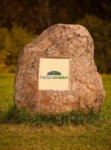 Picture of Platform Creator on Big Granite Rock