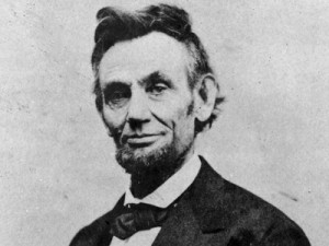 Old Photo of Abraham Lincoln